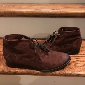 Frye women's boots brown sz 10